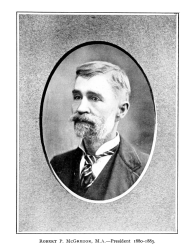 Robert P McGregor from 1904 NAD Proceedings