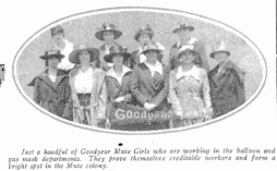 goodyear mute girls the wingfoot clan 1918